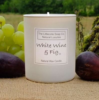 Candle ~ White Wine & Fig