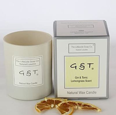 Candle ~ Gin & Tonic Lemongrass Scent