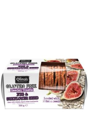 .Crackers ~ Fig & Sunflower ~ Gluten Free