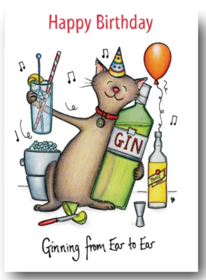 Z Card ~ Happy Birthday ~ Ginning from ear to ear