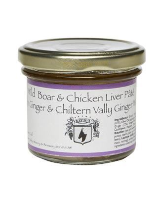 Wild Boar Pate Made with our 'Ginger Wine'