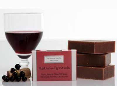 .Soap ~ Red Wine & Cassis