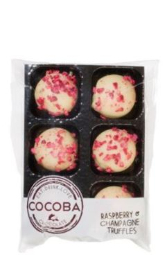 Chocolate ~ Raspberry & Champagne Truffles